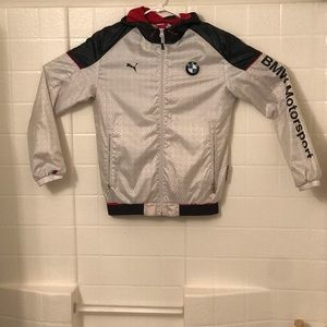 Puma BMW Motorsport Waterproof Jacket Size S